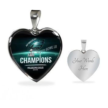 Philadelphia Eagles Necklace Handcrafted Can Be Engraved Any TEXT