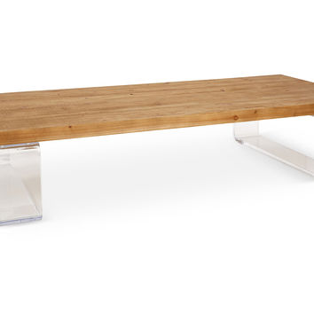 Daniel Coffee Table, Acrylic / Lucite, Cocktail Table, Coffee Table Base