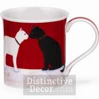 Dunoon Bute Fluffy Tails Cats Mug