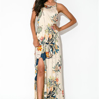 Floral Show Stopper Maxi Dress | The Handmade Hustle