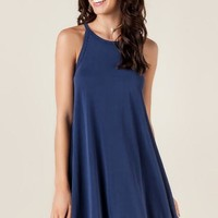 Charlotte knit shift dress
