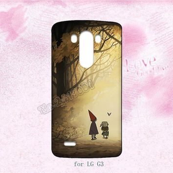 Over the garden wall raccoon fashion hard transparent plastic cell phone cases for LG G2 G3 G4 G5 cover case