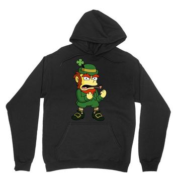 happy saint patrick day simpson 2 Unisex Hoodie