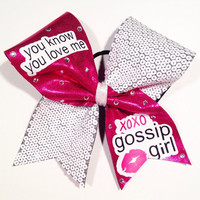 XOXO Gossip Girl Cheer Bow