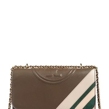 Tory Burch 'Fleming Stripe' Convertible Crossbody Bag | Nordstrom
