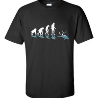 Scuba Diving Evolution Great Gift For Any Diving Fan - Unisex Tshirt