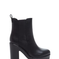 Got Sole Faux Leather Booties