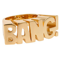 nOir The nOir x DC Comics Bang Ring in Gold