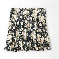 Don't Ask Why Printed Circle Skirt, Peach | American Eagle Outfitters