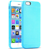 For iPhone 6 6S 4.7 inch Back Case Fashion Honeycomb Dot Style Soft Silicone Cover For iPhone 6S 6 4.7 Mobile Phone Accessories