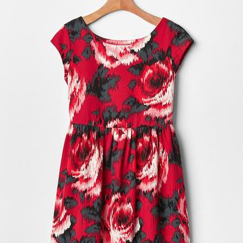 Gap Girls Rose Fit & Flare Dress