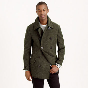 J.Crew Mens Dock Peacoat With Thinsulate