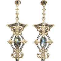 Marquis Mother-Of-Pearl & Rose de France Doublet Earrings