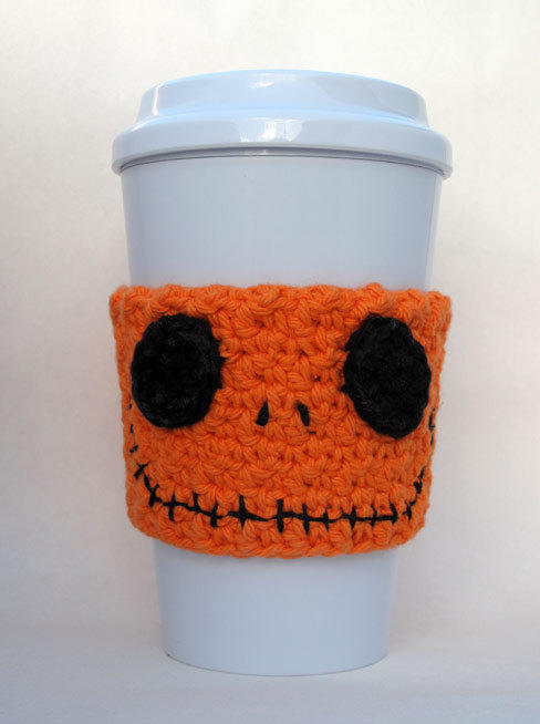 Jack Skellington Orange Pumpkin Crochet from The Enchanted