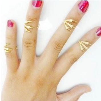 Eagle Claw Ring (one piece)