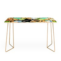 CayenaBlanca Tropical Paradise Desk