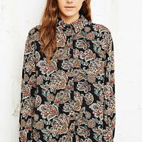 Staring at Stars Leaf Print Shirt at Urban Outfitters