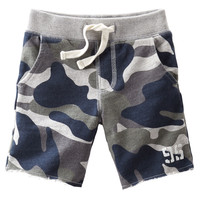Cut-Off French Terry Shorts