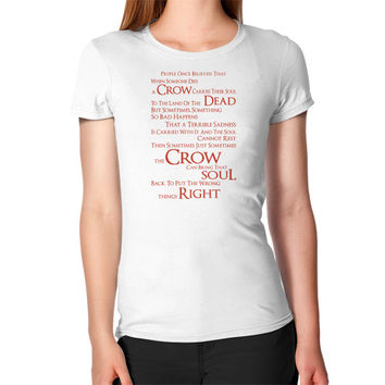 THE CROW DEAD SOUL Women's T-Shirt