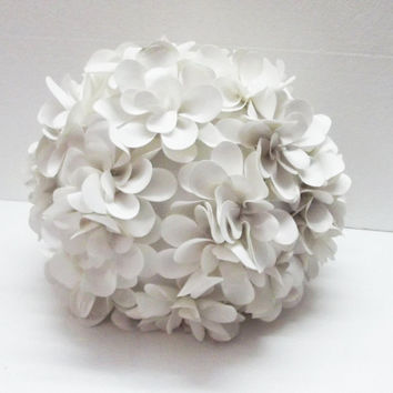 Baby Coral Flower Pillow Round Pouf From Tatvakala Fluffy