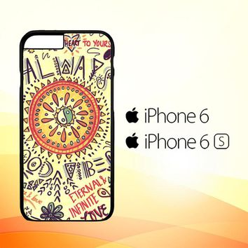 American Hippie Psychedelic L1340 iPhone 6|6S Case