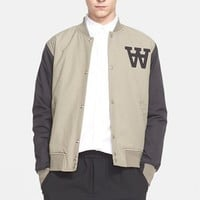 Men's Wood Wood 'Billie' Varsity Jacket,