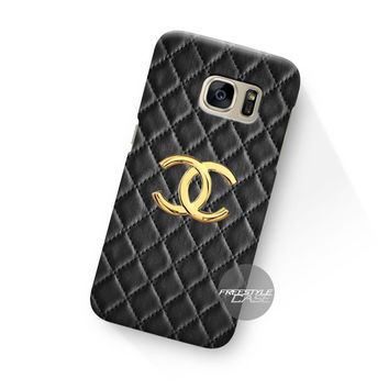 Art Work Chanel Hulle Black Samsung Galaxy Case Cover Series
