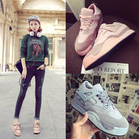 Professional Hot Sale Comfort On Sale Hot Deal Sneakers Winter Flat Korean Patchwork Casual Jogging Shoes [9448881735]