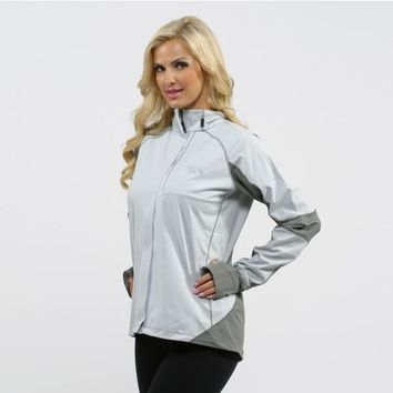 Mountain Hardwear Women's Grey Effusion Power Jacket | Overstock.com Shopping - The Best Deals on Ski Jackets