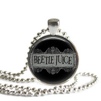 Beetlejuice Necklace
