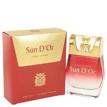 Sun D'or Eau De Parfum Spray By YZY Perfume For Women