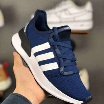 HCXX A1428 Adidas Yeezy Runing III Fashion Causal Running Shoes Blue