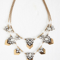 Statement Fancy Fantasy Necklace by ModCloth