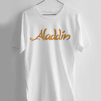 aladdin logo T-shirt Men, Women, Youth and Toddler