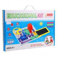 Circuits Smart Electronic Block Kit Educational Appliance,Standard Packing