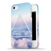 Ankit Hard Shell for iPhone 5/5S - Clouds Triangle