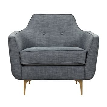 Marta Armchair Charcoal Gray