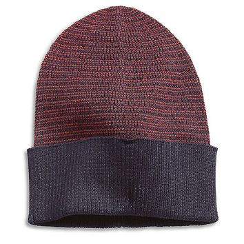 Lucky Brand Striped Beanie Mens - Multi Stripe (One Size)