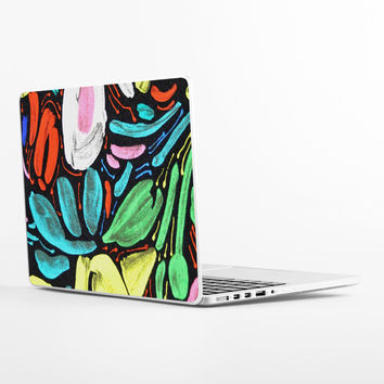 Abstract Floral Laptop Skin