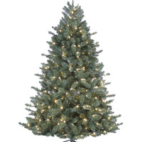 Home | Online Only! $139.99 Christmas Tree Regularly $349.99 | 7-Foot Pre-Lit Oregon Pine Tree | Lord and Taylor