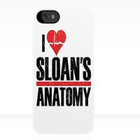 Grey's Anatomy: I <3 Sloans Anatomy - Iphone Case  by sullat04