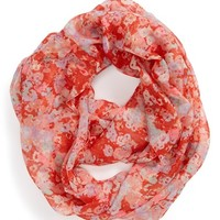 David & Young 'Ditsy Floral' Infinity Scarf (Juniors) (Online Only)