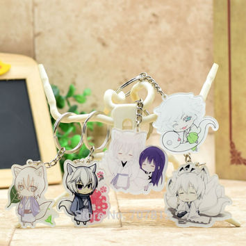 Inu x Boku SS acrylic Keychain Action Figure Pendant Car Key Chain Key Accessories 7 Styles Cute Anime Collection YHP001 LTX1