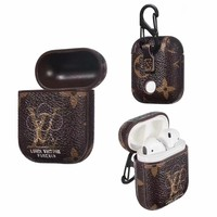 FOREVER LV MONOGRAM AIRPODS CASE -BROWN