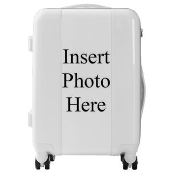 Create Your Own Custom Photo Template Luggage