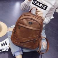Casual Backpack Korean Stylish Fashion Travel Bags [6582315399]