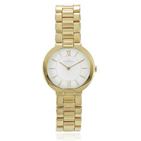 Jacques Lemans Women's Stainless Steel Analog Link Watch