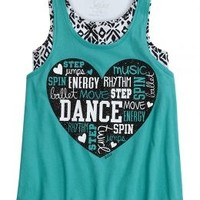 Tribal Sports 2 In 1 Tank | Girls Clothes {parent_category} | Shop Justice