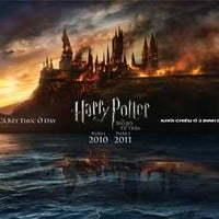 Harry Potter and the Deathly Hallows: Part I (Vietnamese) 27x40 Movie Poster (2010)