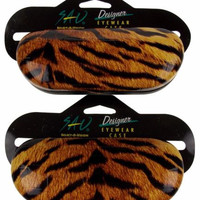 Lot 2 Select A Vision Tiger Print Case Eye Sunglasses Reading Designer Eyewear